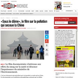 «Sous le dôme», le film sur la pollution qui secoue la Chine