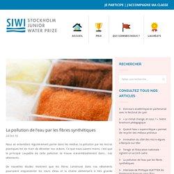 La pollution de l'eau par les fibres synthétiques - Stockholm Junior Water Prize