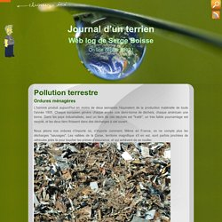 Pollution terrestre