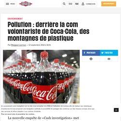 Pollution: derrière la com volontariste de Coca-Cola, des montagnes de plastique