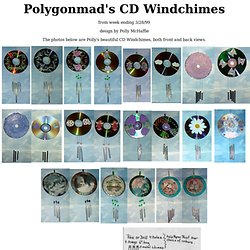 Pollygonmad's CD Windchimes