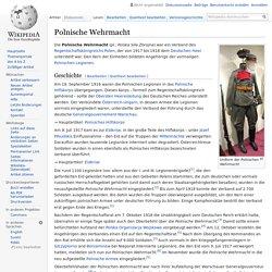 Polnische Wehrmacht