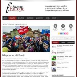 Pologne, un pas a été franchi