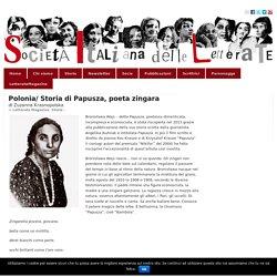 Polonia/ Storia di Papusza, poeta zingara