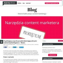 Polskojęzyczne narzędzia dla content marketingowca