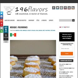 Polvorones - Recette Traditionnelle Mexicaine