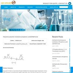 Polyamino polyether methylene phosphonic acid(PAPEMP Acid)