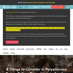 8 Things to Consider in Polyamorous Dating Before Committing to Another Partner