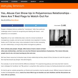Yes, Abuse Can Show Up in Polyamorous Relationships – Here Are 7 Red Flags to Watch Out For