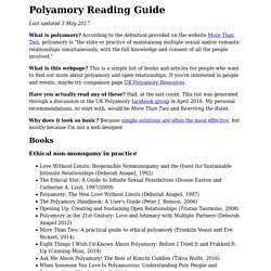 Polyamory Reading List