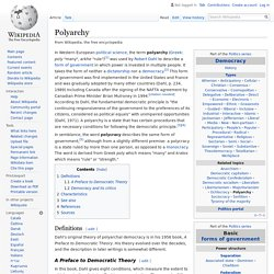 Polyarchy - Wikipedia
