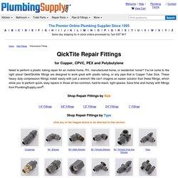 POLYBUTYLENE repair fittings