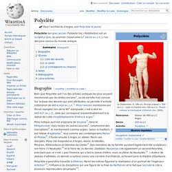 Le Canon de Polyclète