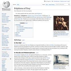 Polydorus of Troy