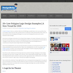 20+ Low Polygon Logo Design Examples