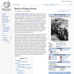 Battle of Polygon Wood