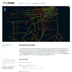 Polymaps - Pavement Quality
