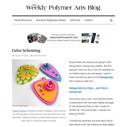 Inspiration for polymer and mixed media crafters and artists.