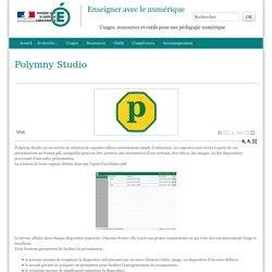 Polymny Studio - Enseigner avec le numérique
