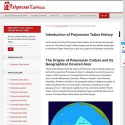 Polynesian Tattoo History