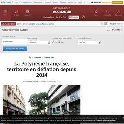 La Polynésie française, territoire en déflation depuis 2014
