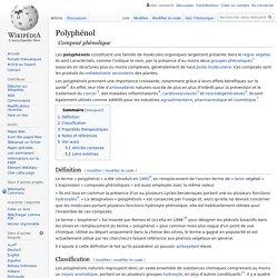 Polyphénol