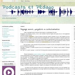 Paysage sonore ; polysémie vs contextualisation