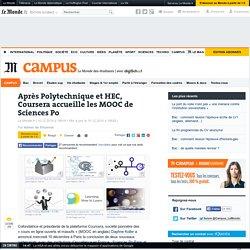 Après Polytechnique et HEC, Coursera accueille les MOOC de Sciences Po