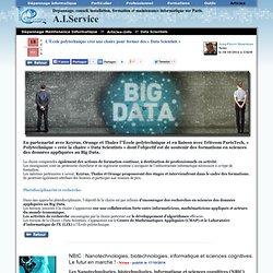 L'École polytechnique créé une chaire pour former des « Data Scientists » - Dépannage informatique Paris à domicile