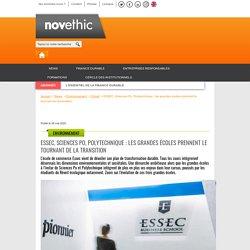 ESSEC, Sciences Po, Polytechnique : les grandes écoles prennent le tournant de la transition