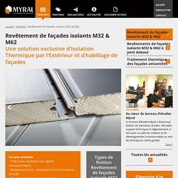 Panneaux isolants polyuréthane : isolation par l'extérieur - Myral Pro