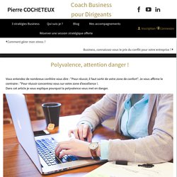 DOC 2 : Polyvalence, attention danger! − Pierre Cocheteux