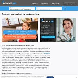 ▷ Fiche métier Equipier polyvalent de restauration : salaire, étude, rôle et compétence
