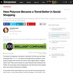 How Polyvore Became a Trend-Setter in Social Shopping