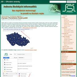 Z praxe: Pomáháme České poště - JSI