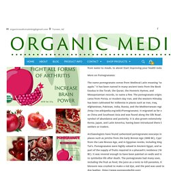 Organic Superfood Pomegranate Fruit Powder Online