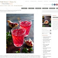 Pomegranate Recipes | Pomegranate Spirtzer