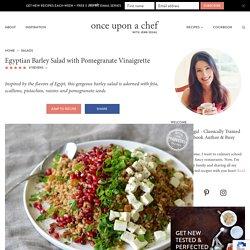 Salade d'orge à l'égyptienne
