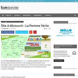 La Pomme Verte : site de ressources pédagogiques
