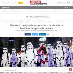 Star Wars: des jouets au pommeau de douche, le business des produits dérivés