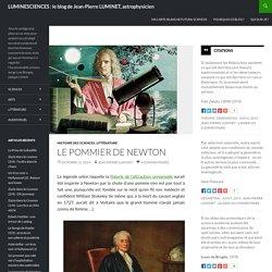 Le pommier de Newton, par Jean-Pierre Luminet