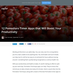 12 Pomodoro Timer Apps that Will Boost Your Productivity