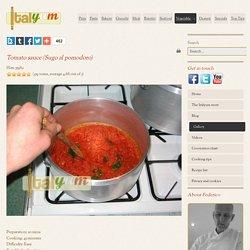 Tomato sauce (Sugo al pomodoro)