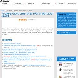 ➤Pompe Ulka & Ceme: EP-EX Tout ce qu'il faut savoir ! - Coffeediag.com