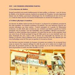 Pompéi - Eléments de Civilisation (page 6)