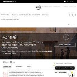 Expo Pompéi au Grand Palais (25 mars au 8 juin 2020)
