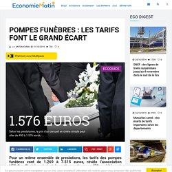 Pompes funèbres : les tarifs font le grand écart