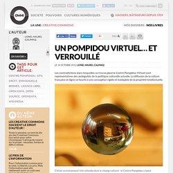 Un Pompidou virtuel… et vérouillé