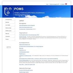 POMS - Länkar