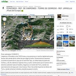 ruta PONCEBOS - REF. DE CABRONES - TORRE DE CERREDO - REF. URRIELLU (Picos de Europa) - Camarmeña, Asturias